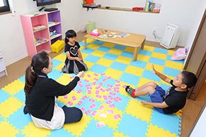 専用の託児室を完備