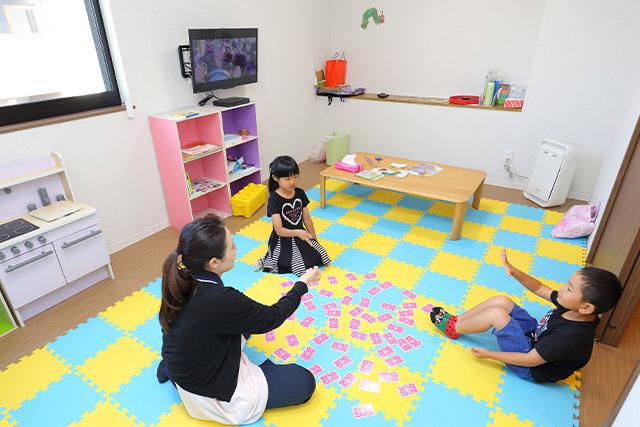 スタッフ専用の託児室